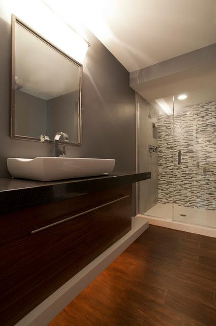 New Brighton Guest Bath - Modern - Bathroom - Minneapolis ...