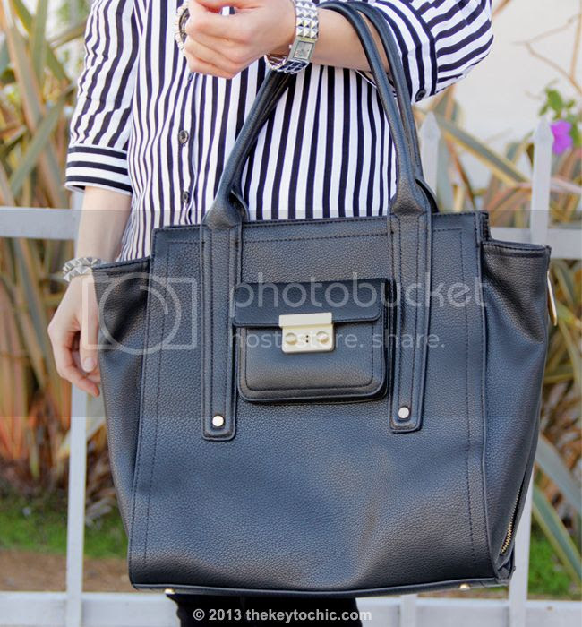 black large Phillip Lim for Target satchel
