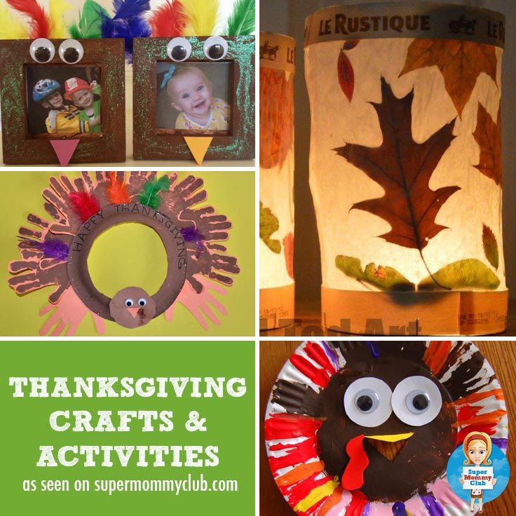 Thanksgiving activities and crafts for toddlers and preschoolers