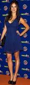 Paula Prendes Guapísima Escote Minivestido En Los Neox Fan Awards
