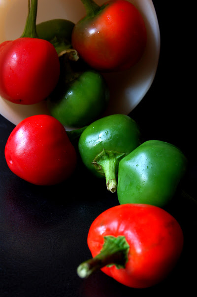 tumbling peppers