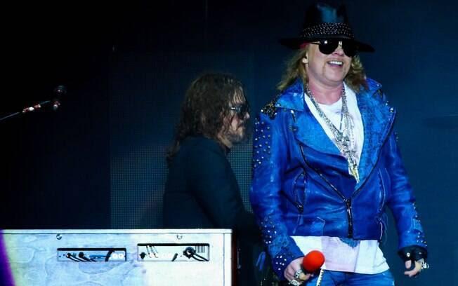 Show do Guns N'Roses na Arena Anhembi em São Paulo (28/03/2014)