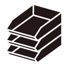 レタートレーシルエット イラストの無料ダウンロードサイト