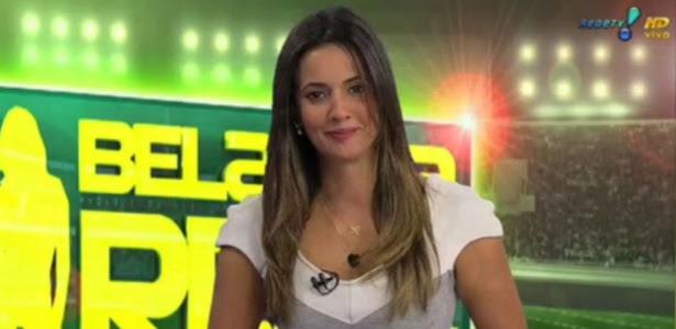 Band quer Paloma Tocci, da Rede TV!, para ser companheira de Felipe Andreoli em programa esportivo
