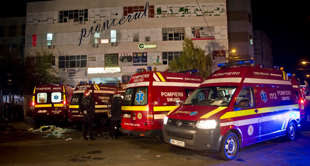 Incêndio deixa 27 mortos em boate na Romênia