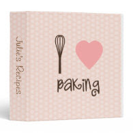 I Heart Baking Recipe Binder