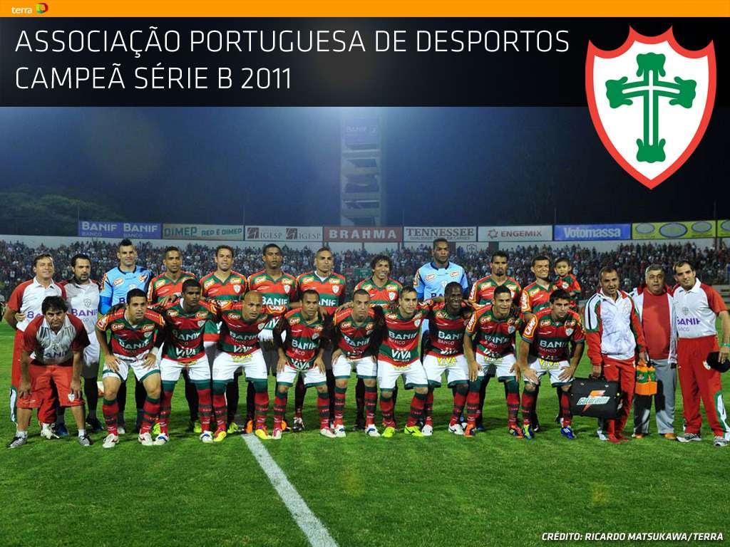 Portuguesa Campeã da Série B 2011