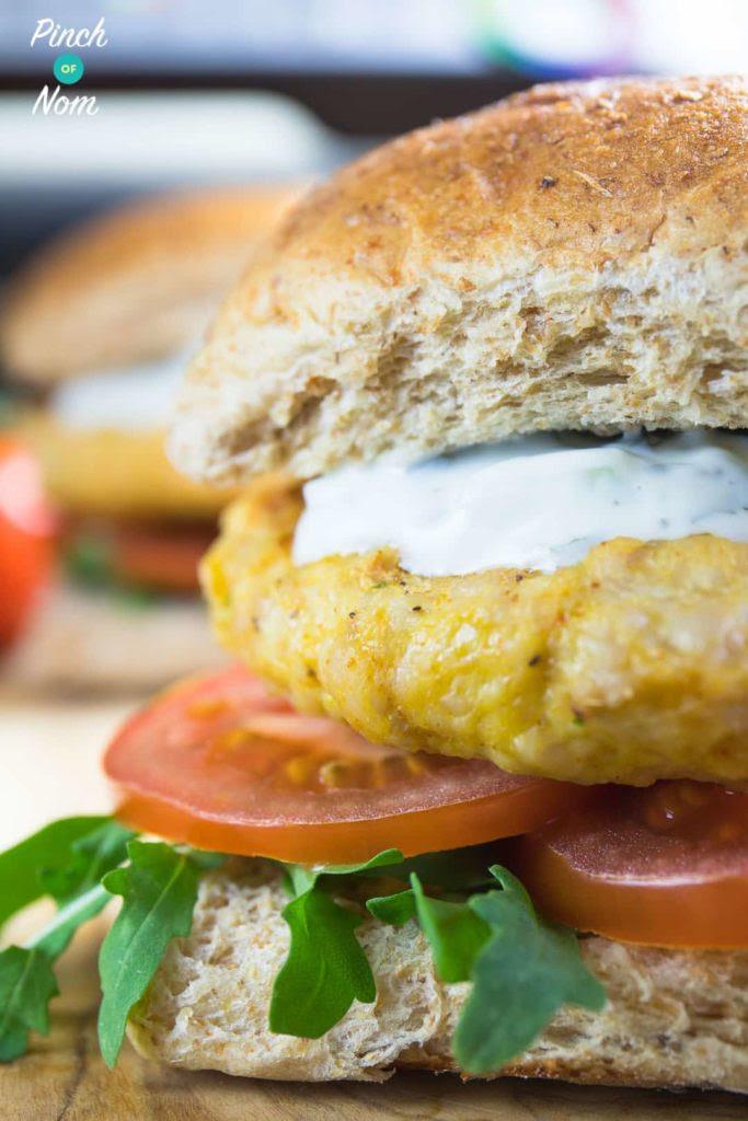 Syn Free Tikka Turkey Burgers | Slimming World - Pinch Of Nom