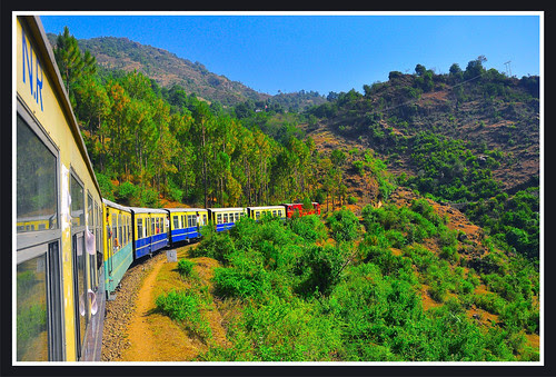 Shimla Kalka Express  - Toy Train