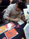 East Bay Alternative Press Book Fair, 12.10.2011 Geoff Vasile signing at the East Bay Alternative Press Book Fair.