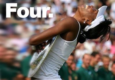 Venus Williams wins 4th Wimbledon Title