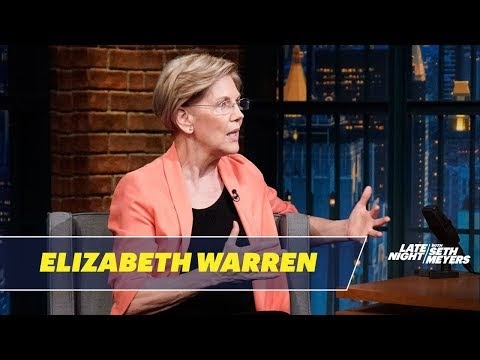 Senator Elizabeth Warren Talks About Corruption in the Trump Administration
