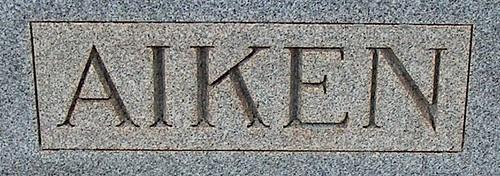 Aiken Surname by midgefrazel