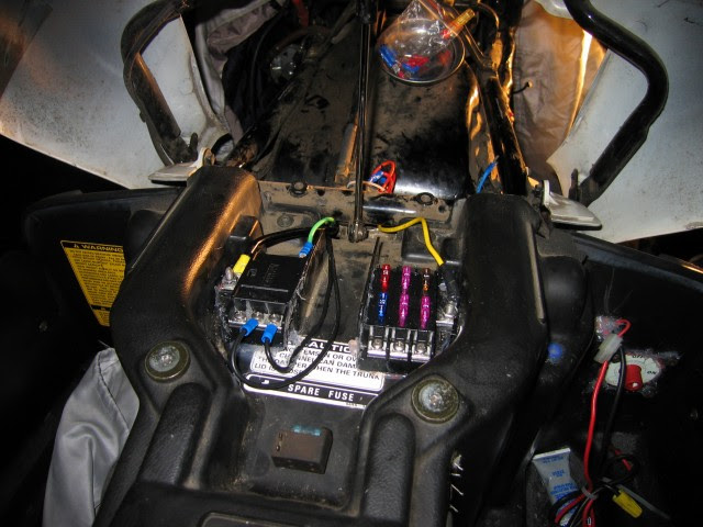 Motorcycle Auxiliary Fuse Box