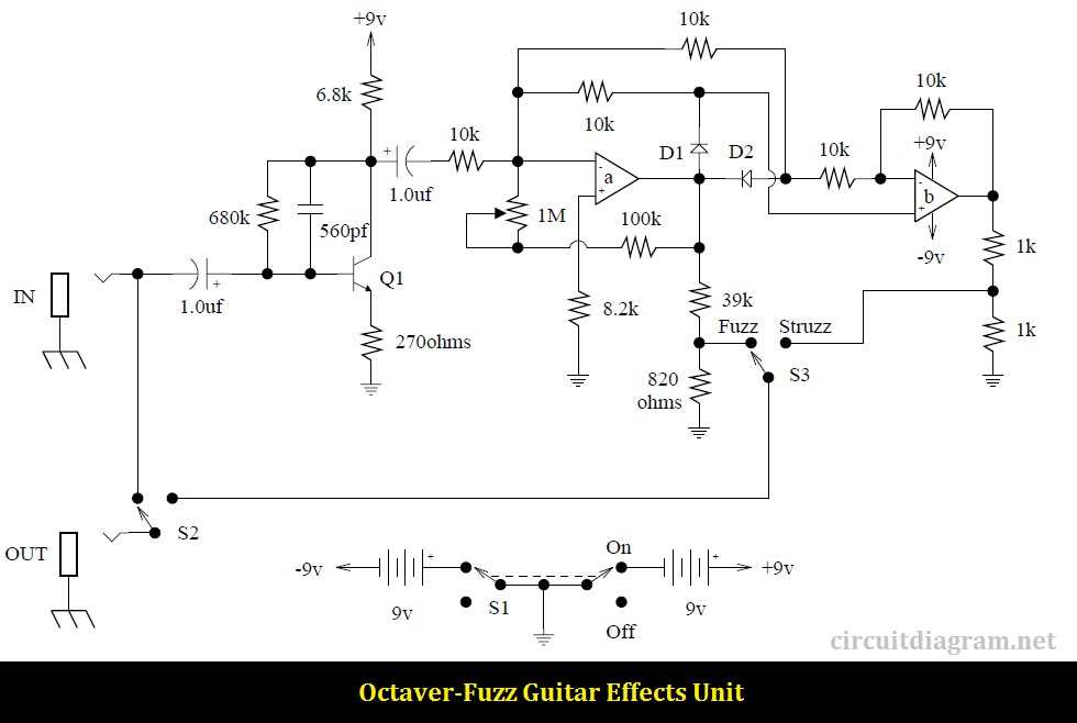 Boss Amplifier Schematics