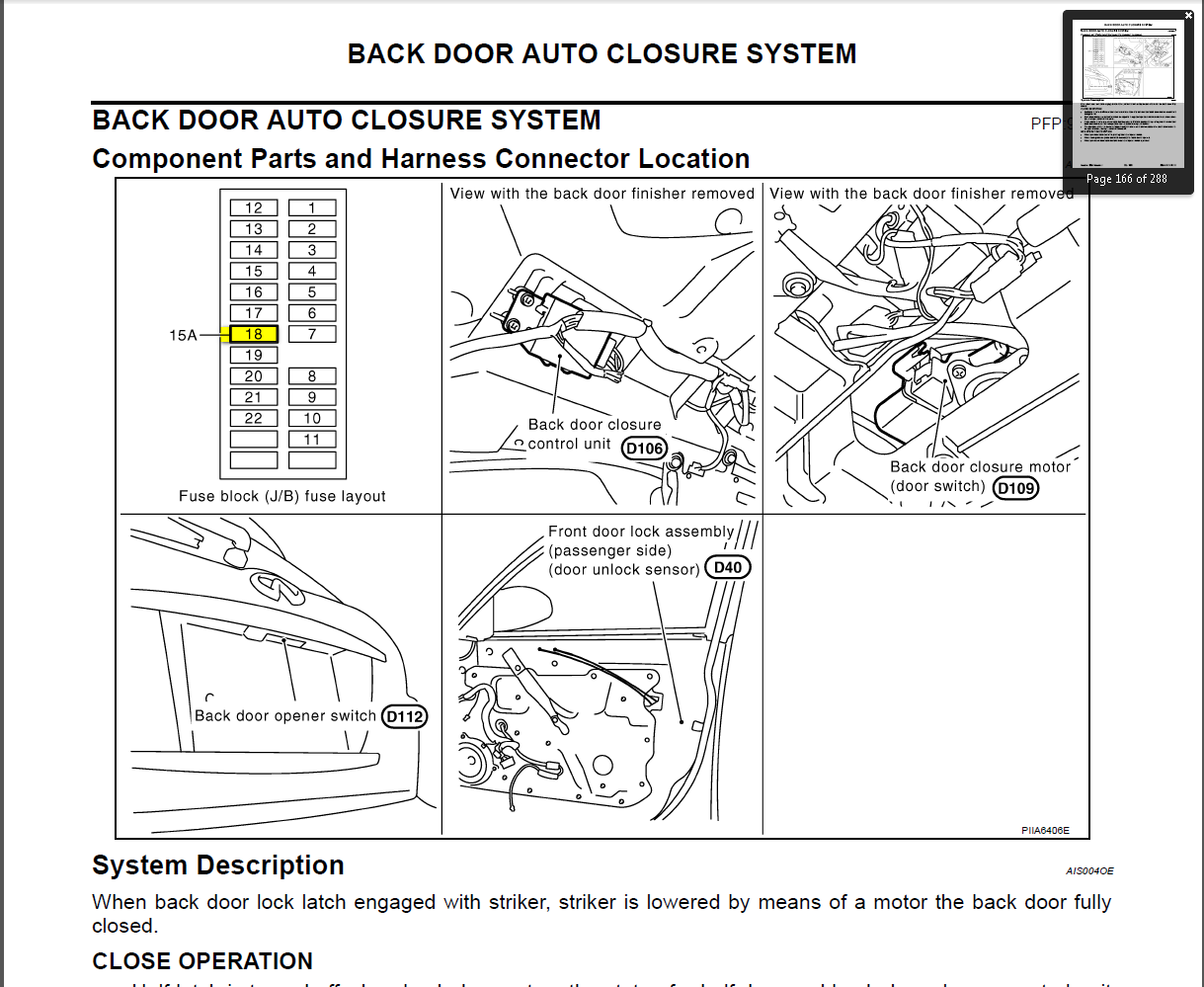 2006 Infiniti Fx35 Fuse Box Location