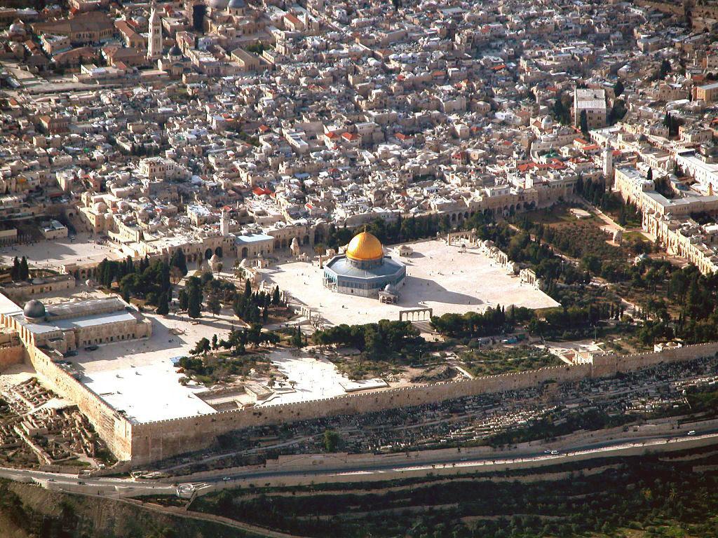Arial Photo Al-Aqsa