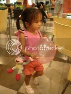 Keona as Dora the Explorer