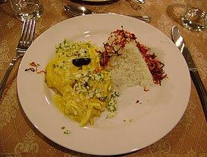 English: Ají de gallina, tradicional meal of P...
