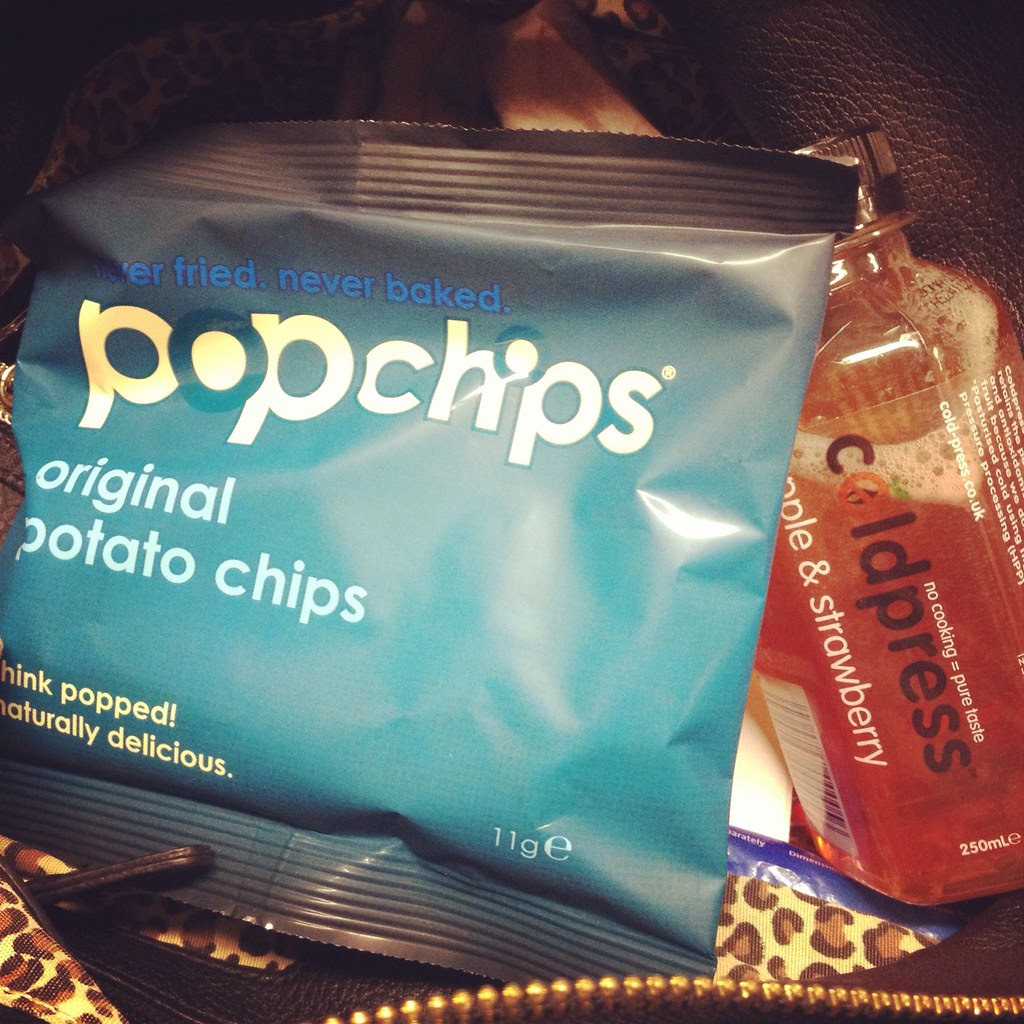 Popchips and Coldpress AX Circus Goodie Bag