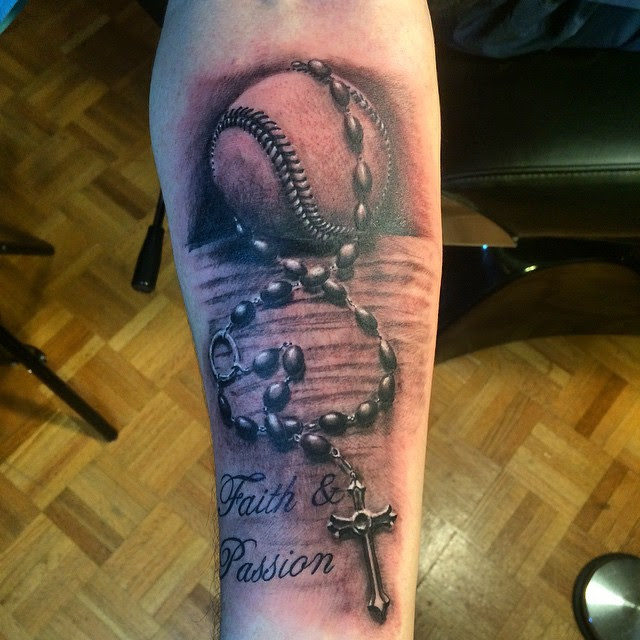 50 Sporty Baseball Tattoo Designs For The Love Of The Game