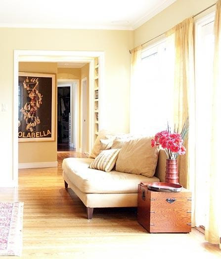 Klopf Architecture - Pass-Through traditional living room