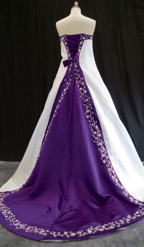 Rahena's blog: Winter Wedding Church Program Purple Blue