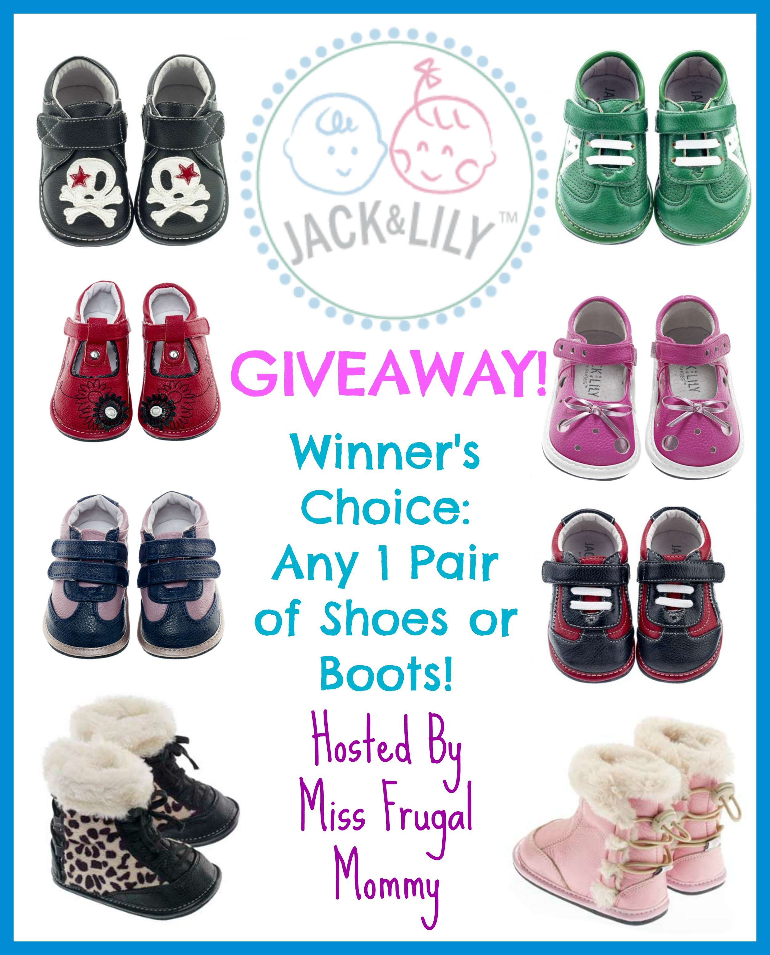 Enter to win the Jack & Lily Giveaway: Winner's Choice. Ends 4/28.