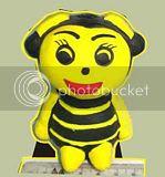 Gerabah Tempat Pensil Lebah