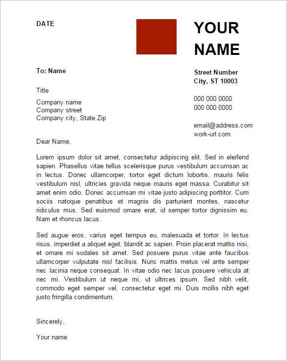 Google Application Cover Letter Sample Cover Letter