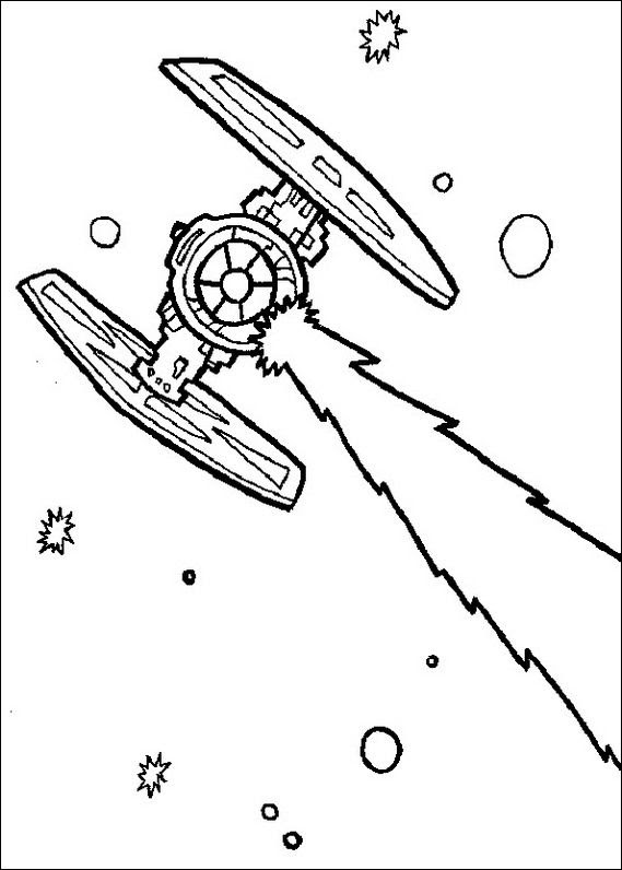 Tie Fighter Coloring Page at GetColorings.com | Free ...