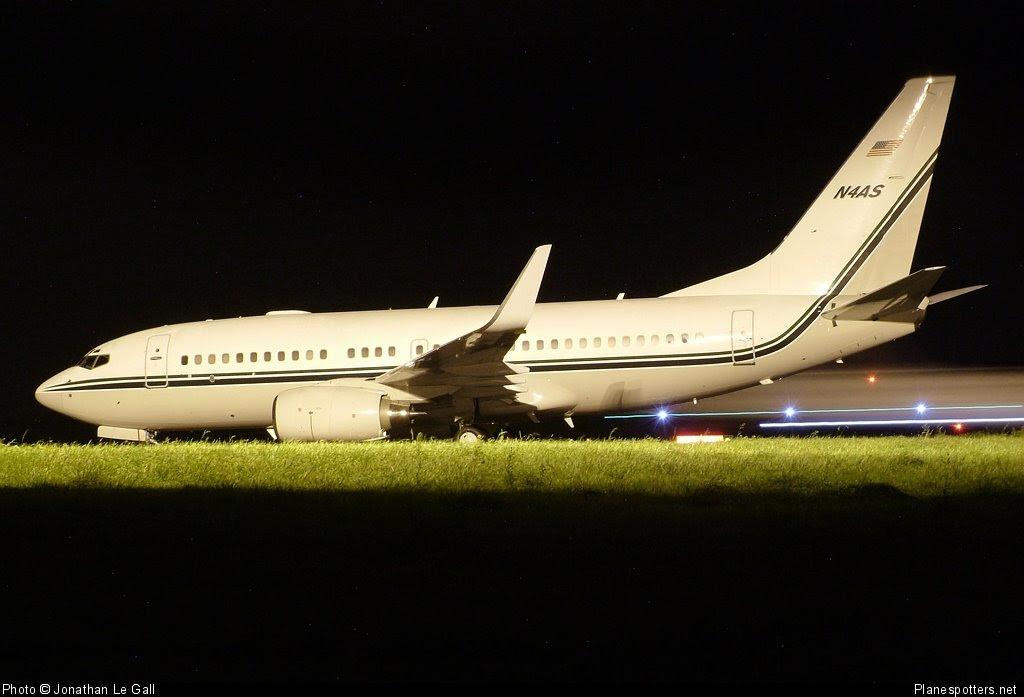 Madagascar Presidential Jet B737