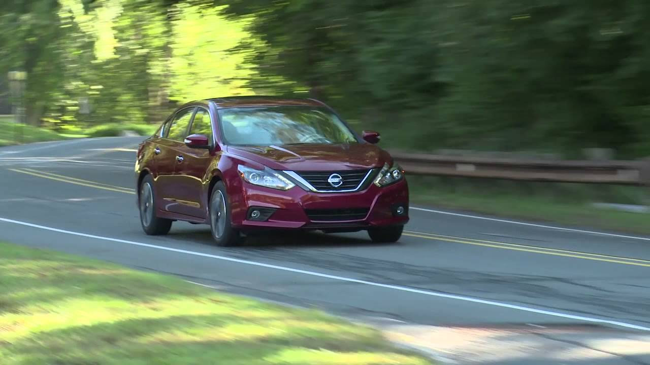 2016 Nissan Altima facelift revealed - YouTube