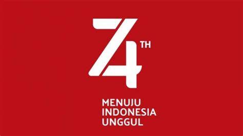 dinamisnya logo hut   ri bertema menuju