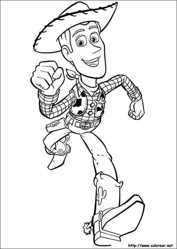 Dibujos De Toy Story Para Colorear En Colorear Net