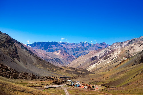 Road Up to Christ the Reedemer of the Andes