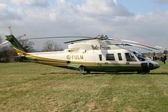 G-FULM - 2005 build Sikorsky S-76C, at the 2011 Cheltenham Festival