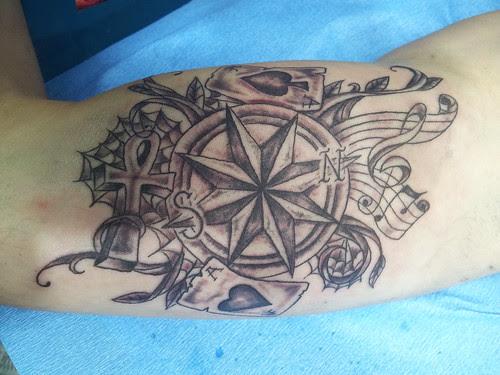 Tatuaje Rosa De Los Vientos A Photo On Flickriver