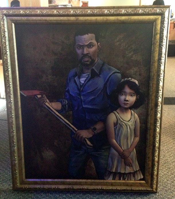The Walking Dead Framed By Telltale Games