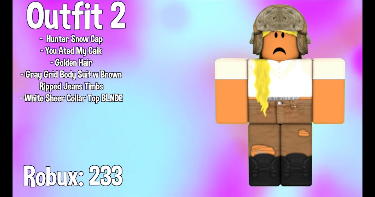 Coolest Roblox Outfits