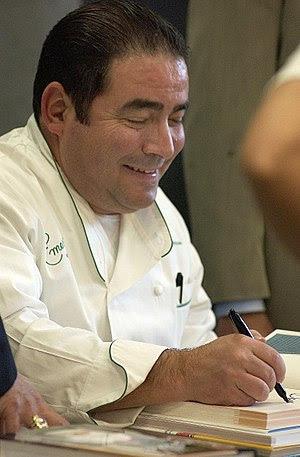 Emeril Lagasse, American celebrity chef, resta...