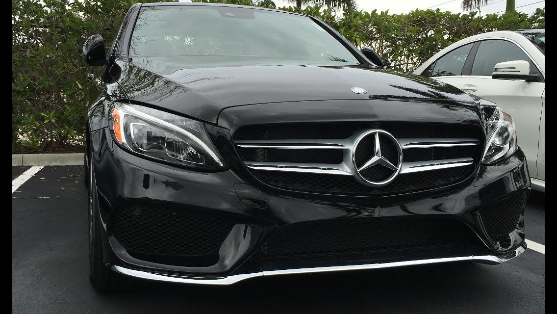 2015 Mercedes-Benz C400 C400 sport 4matic 1/4 mile Drag ...