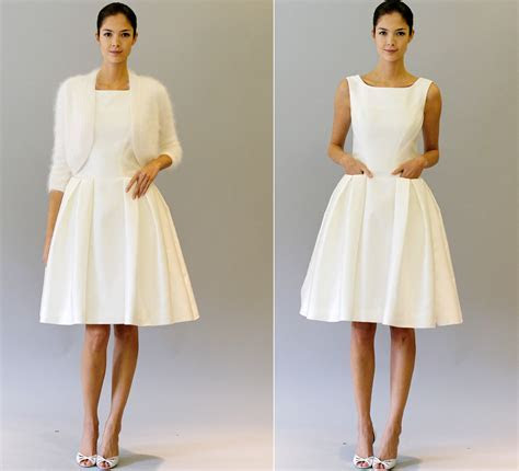 little white dresses carolina herrera 2012 bridal gowns