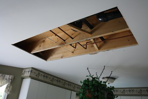 Hole In Ceiling In Kitchen