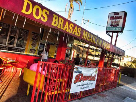 dos brasas  mexican food  san diego road pickle