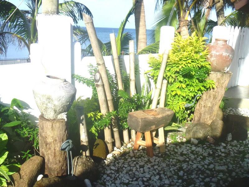 A garden setting