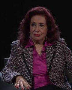 Lidia Falcón entrevistada por Pablo Iglesias en 'Otra Vuelta de Tuerka'.