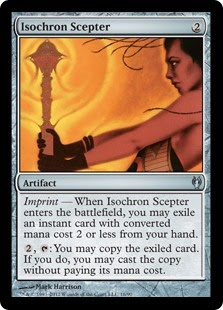 MTG Cube: The Top 12 Things to put on an Isochron Scepter