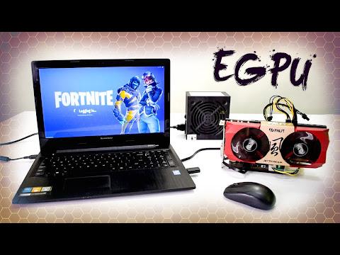 Gaming Laptop With External Gpu
