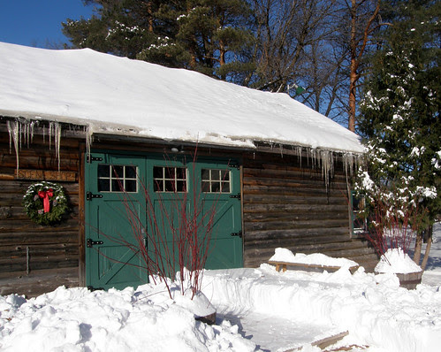 The Old Log Theater scene shop